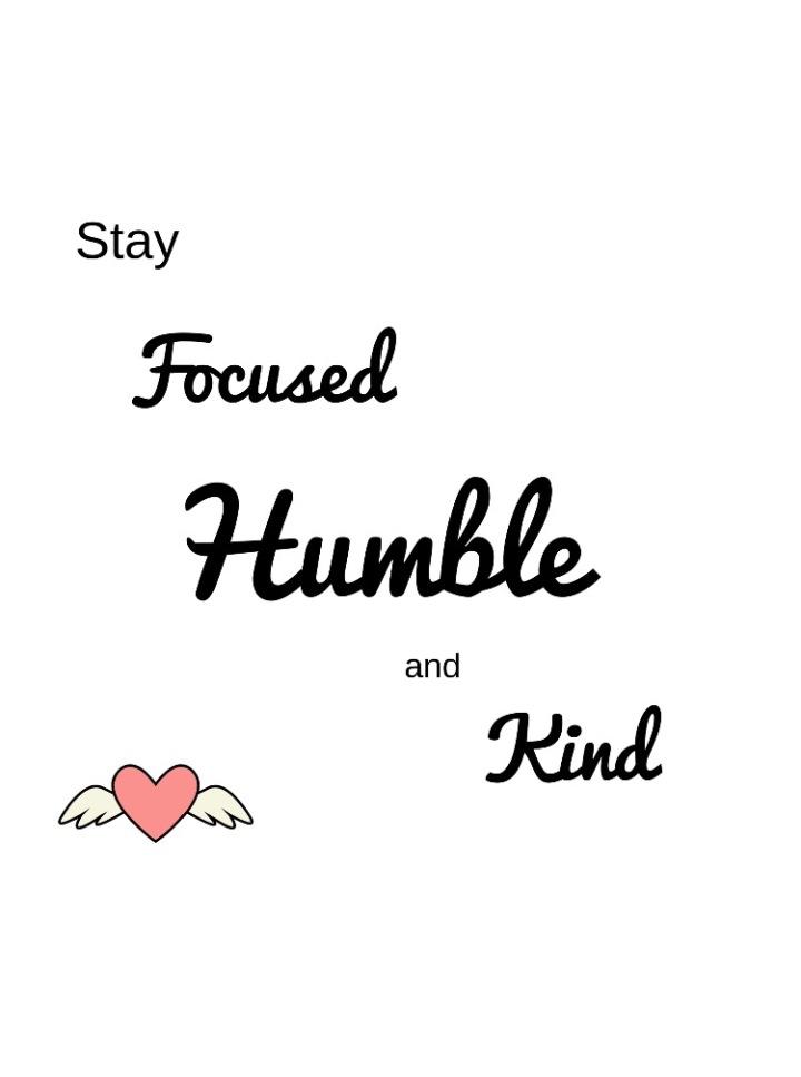 L'humilité, la clé de la réussite?